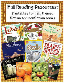 Fall Reading Resource Pack