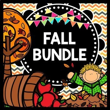 Fall Reading, Writing, and Math: Ultimate Bundle Pack {Spe