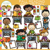 Fall Reading and Writing Clip Art