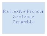 Fall Reflexive Pronoun Sentence Scramble