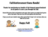 Fall Reinforcement Game Bundle
