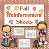 Fall Reinforcement Sheets for any skill