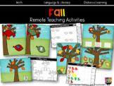 Fall Remote Teaching Activities