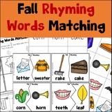 Fall Rhyming Activities