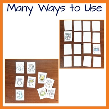 Rhyming Game and Activity with a Fall Theme