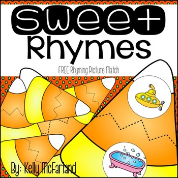 Fall Rhyming Picture Match