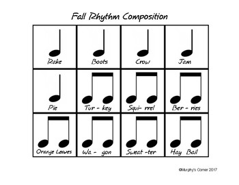 Fall Rhythm Composition