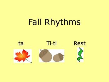 Fall Rhythm Slides