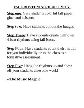 Fall Rhythm Strip Activity