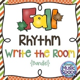 Fall Rhythm Write the Room {BUNDLE}