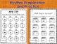 Fall Rhythm and Melody Worksheets