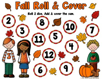 Fall Roll & Cover Addition FREEBIE