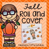 Fall Roll and Cover Dice Game