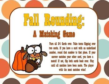 Fall Rounding: A Matching Game