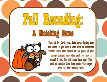 Fall Rounding: A Matching Game