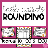Fall Rounding Task Cards