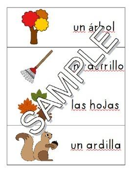 Fall SPANISH Games