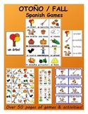 Fall SPANISH Games