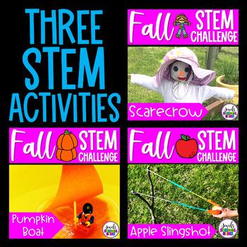 Fall STEM Activities BUNDLE (Fall STEM Challenges)