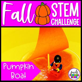 Fall STEM Activities (Pumpkin Boat Fall STEM Challenge)