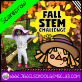 Fall STEM Activities (Scarecrow Fall STEM Challenge)