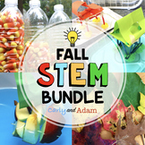 Autumn STEM Activities and Challenges BUNDLE with TpT Digital Distance Learning