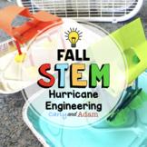 Hurricane STEM Challenge Weather Activity + Digital Distance Learning Version