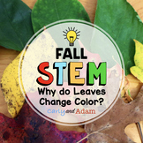 Fall STEM Activity: Why do leaves change color? - NGSS Aligned
