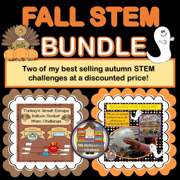 Fall STEM Bundle! Halloween and Thanksgiving!