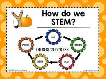 Fall STEM Challenge: The Great Pumpkin Slinger - PowerPoint - Grades 3-5