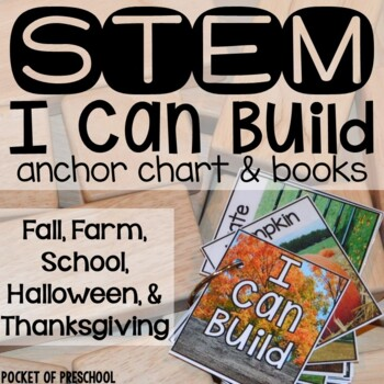 Fall, Halloween, and Thanksgiving STEM I Can Build