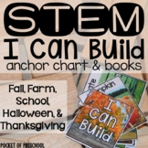 Fall, School, Halloween, and Thanksgiving STEM I Can Build
