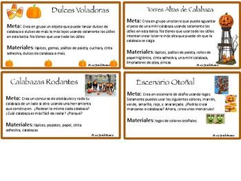 Fall STEM Spanish activities