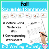 Fall Sayings FUN Building Sentences