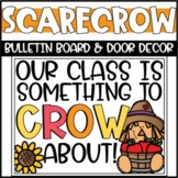 Fall Scarecrow Bulletin Board or Door Decoration