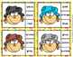 Fall Scarecrow Color Match Clip Cards and Memory Game