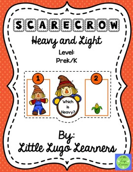Fall Scarecrow Heavy and Light-Comparisons
