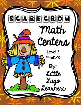 Fall Scarecrow Level 2 Bundle-Math Centers