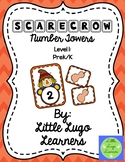 Fall Scarecrow Number Towers-Math Centers L1