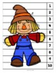 Fall Scarecrow (Level 2) Numbered Puzzles (1-10)