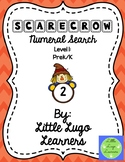 Fall Scarecrow (Level 1) Numeral Search
