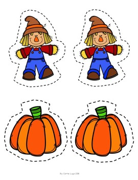 Fall Scarecrow Small, Medium, and Large-Comparisons
