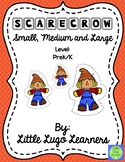 Fall Scarecrow (Comparisons) Small, Medium, and Large