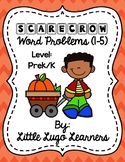 Fall Scarecrow Add/Subtract Word Problems 1-5
