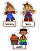 Fall Scarecrow (Level 3) Add/Subtract Word Problems 1-5