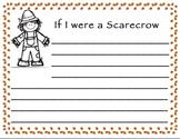 Fall Scarecrow Writing