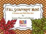 Fall Scavenger Hunt: A Science and Math Mini Unit