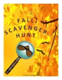 Fall Scavenger Hunt Activity