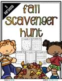 Fall Scavenger Hunt - Fall Nature Walk Exploration