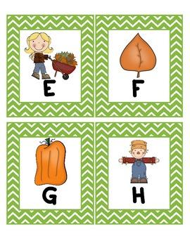 Alphabet Scavenger Hunt: Fall